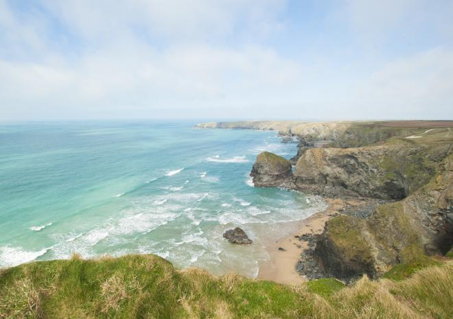 Beaches near Newquay | Bedruthan Steps Beach | Cornwall c Adam Gibbard