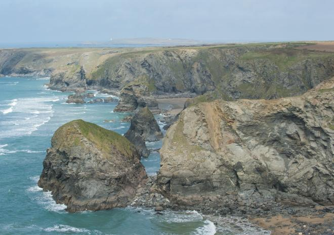 Beaches near Newquay | Bedruthan Steps Beach | Cornwall