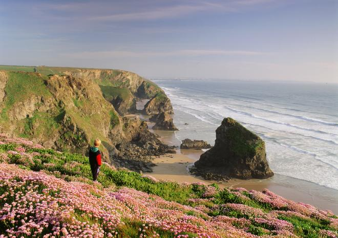 Beaches near Newquay | Bedruthan Steps Beach | Cornwall c Paul Watts