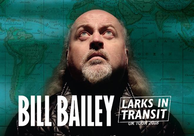 Hall for Cornwall, Whats on, February 2018, Bill Bailey