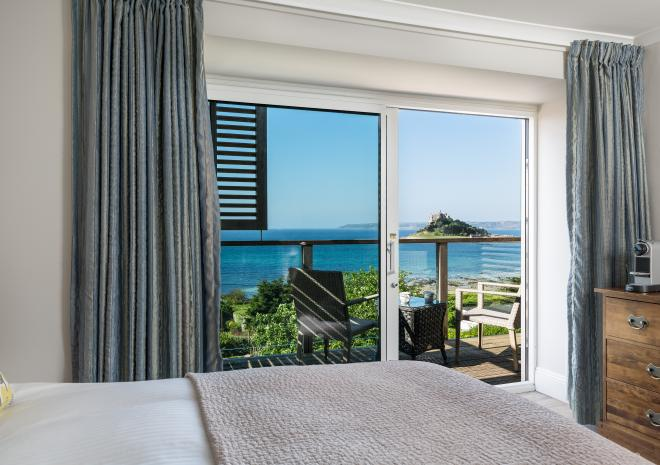 Blissful Bay with view to the balcony
