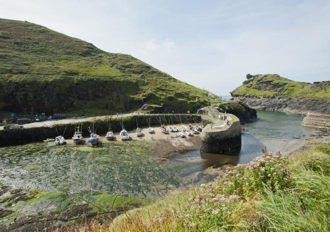 Boscastle Harbour, Cornwall c Visit Cornwall/Adam Gibbard