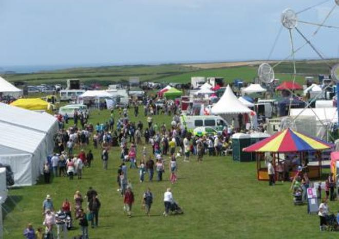 Camborne Show, Cornwall, What's on