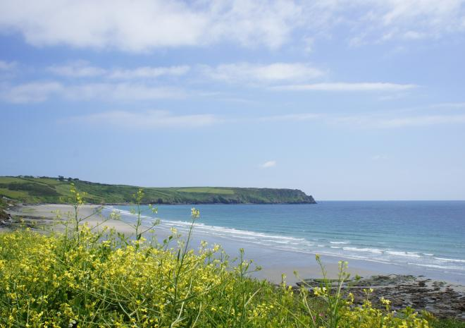 Carne Beach, The Roseland, Cornwall
