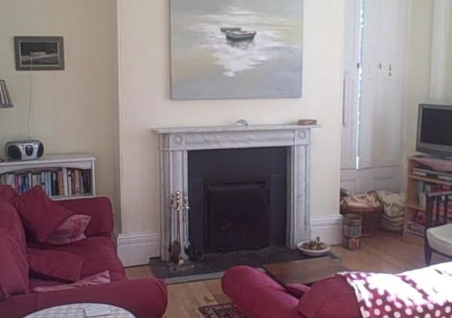 Self Catering Cornwall , The Garden, Carnethic House , Fowey , Cornwall