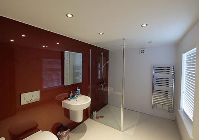 Self Catering Falmouth Cornwall Castle Apartment Luxury Wet Room