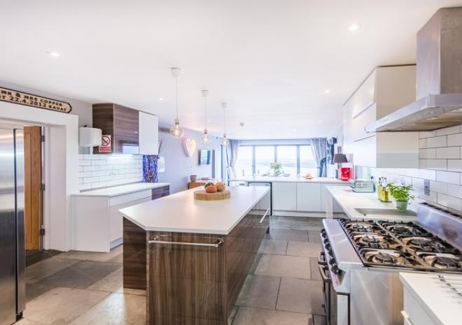 The Chefs Kitchen At Pebble House, Mevagissey, Cornwall