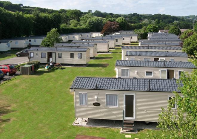 Stay in one of our 40 static holiday homes