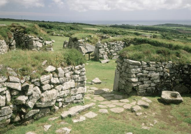 Chysauster Ancient Village | West Cornwall | English Heritage