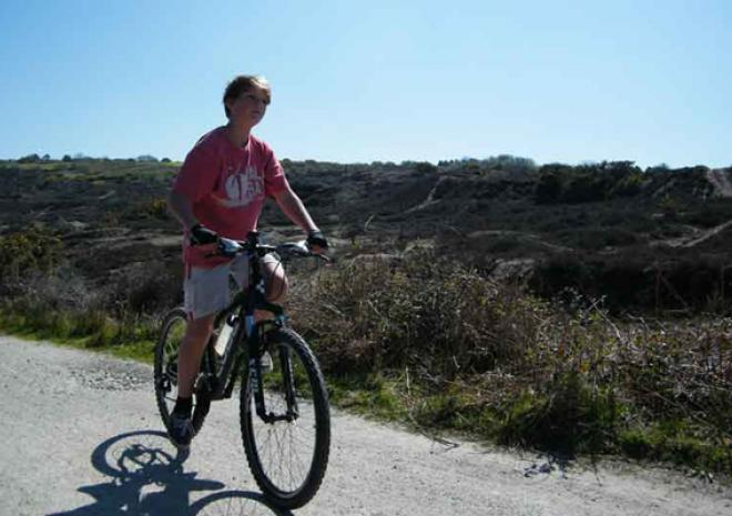 Coast to Coast Cycle Hire, Elm Farm Bike Hire, Mineral Tramways, Cornwall