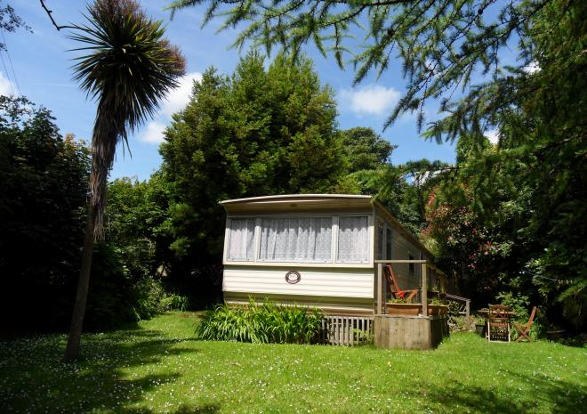 Coombe Cottage Caravan, Self-Catering, Hayle, West Cornwall