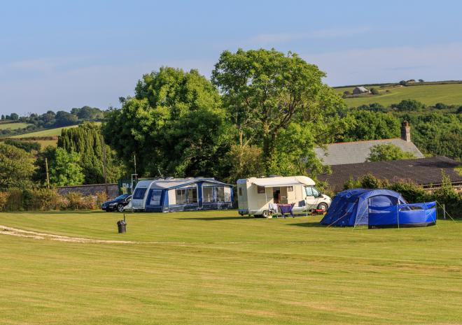 Court Farm Campsite, Caravan and Camping Site in St Austell, Cornwall
