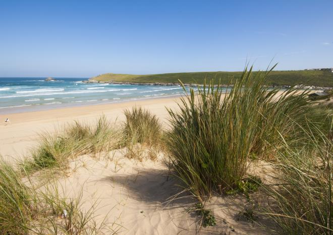 Beaches near Newquay Cornwall | Crantock Beach c Adam Gibbard