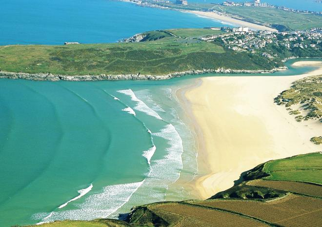 Beaches near Newquay Cornwall | Crantock Beach c John Such