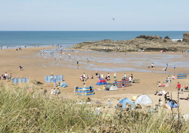Crooklets Beach, Bude, North Cornwall, Beach