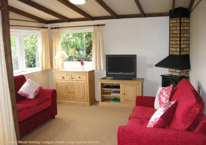 Cutkive Wood Holiday Lodges, Self Catering  Near Liskeard, Cornwall