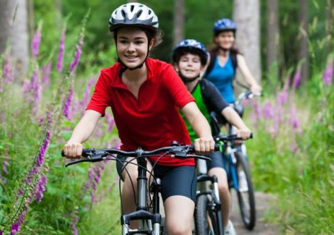 Holiday cottage accommodation near Lanhydrock bike trail cycling Cardinham woods Camel Trail