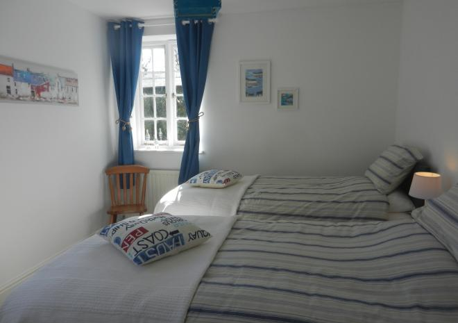 Downstairs bedroom number 2 - twin or superking beds