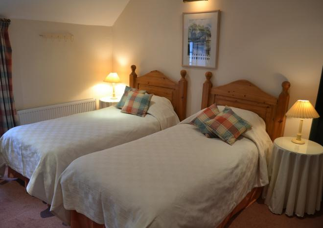 The Riverside, Self Catering Cottage, Bedroom, Helford, South Cornwall