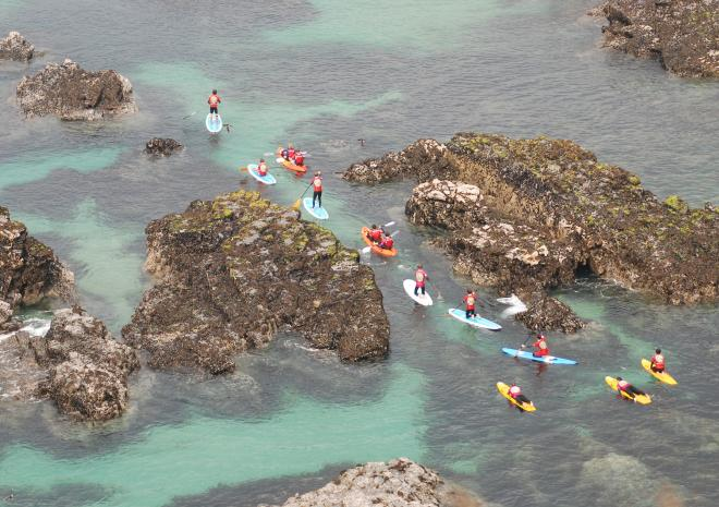 Kayak tour | Harlyn Surf School | Padstow | Cornwall
