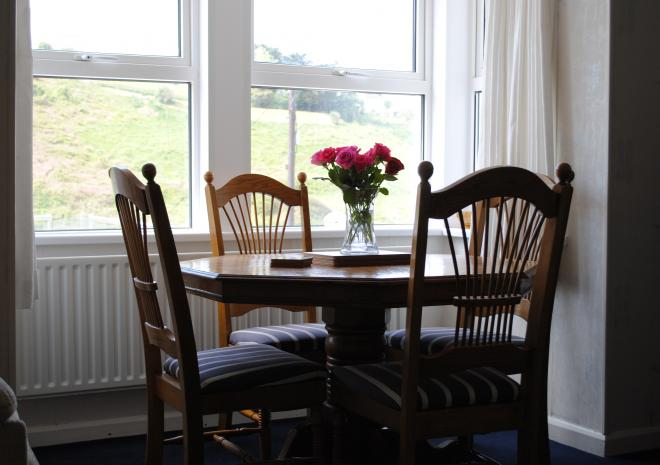 Sitting Room with Sea View, Port Gaverne, Port Isaac