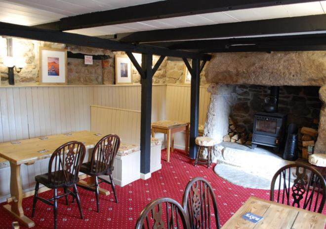 The Fountain Inn, Bed and Breakfast, Penzance, West Cornwall