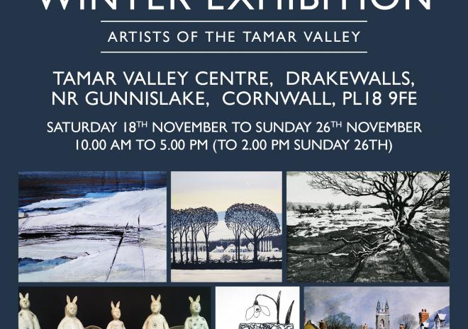 Drawn to the Valley Winter Exhibition, Visit Cornwall, Event