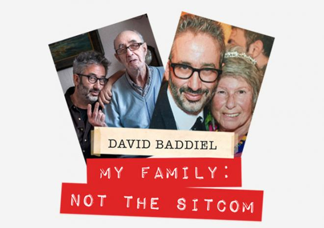Hall for Cornwall, Whats on, February 2018, David Baddiel