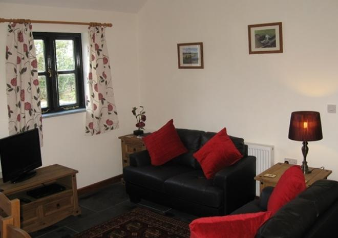 Hallagenna Cottages, Self catering cottages, Bodmin Moor, Cornwall, Delphy living room