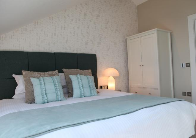 Drifter Bedroom Pebble House, Mevagissey, Cornwall