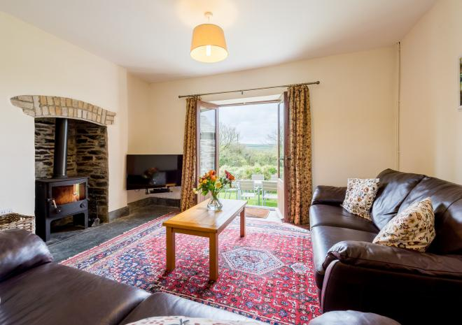 Cargurra Farm Cottages Near Boscastle Cornwall
