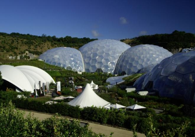 Eden Project is about 35 minutes away