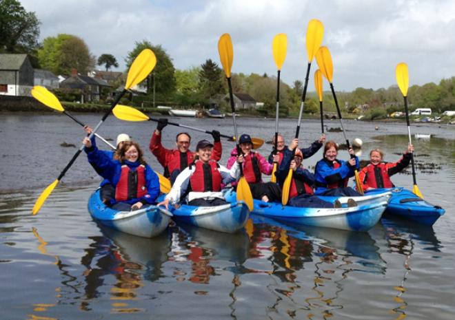 Encouter Cornwall, Goland, Fowey | Canoe and Kayak Hire