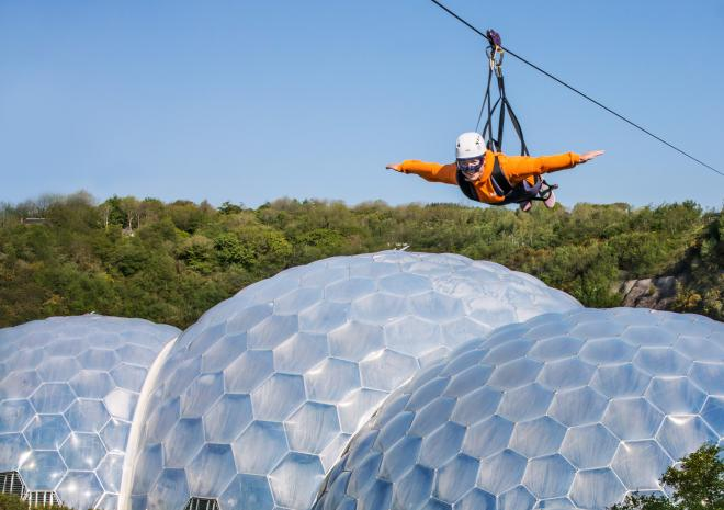 Hangloose Adventure, Eden Project, Cornwall, activity holiday