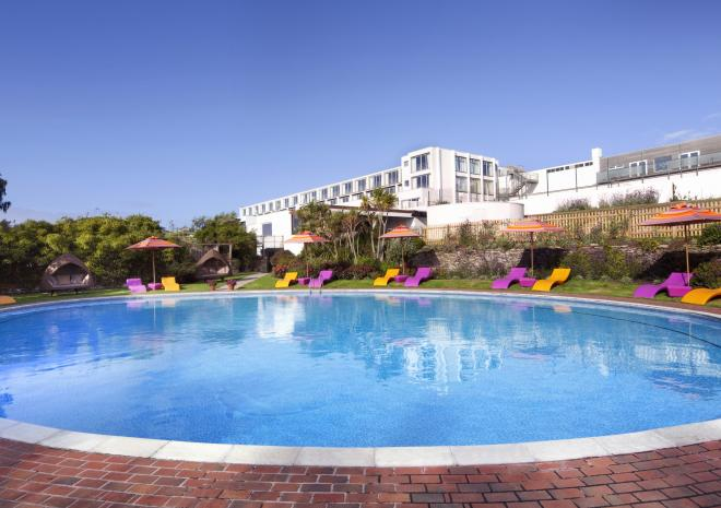 Bedruthan Hotel and Spa, Mawgan Porth, North Cornwall