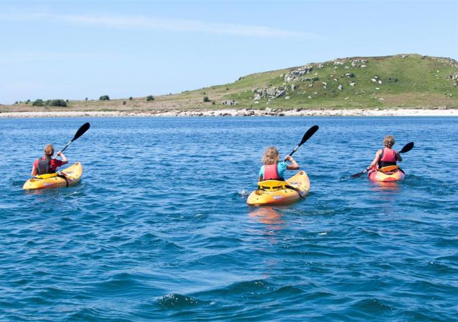 Tresco Island Activities, Kayaking