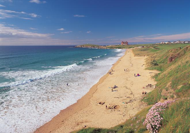 Beaches in Newquay Cornwall | Fistral Beach c Paul Watts