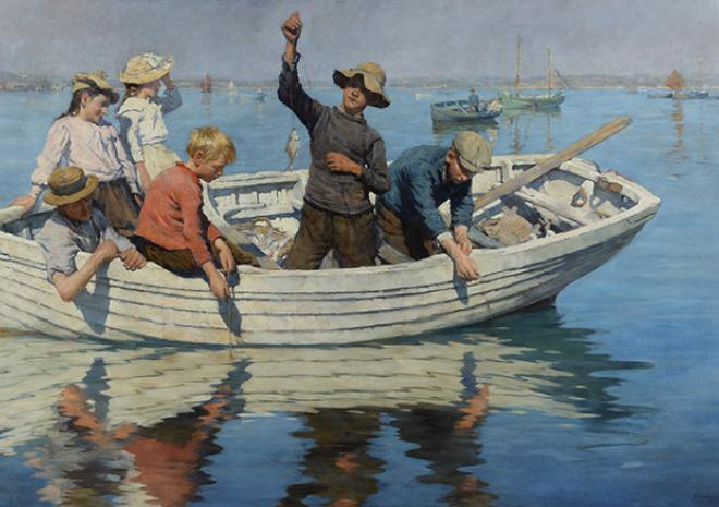 Stanhope Forbes, Penlee House, Penzance, Cornwall