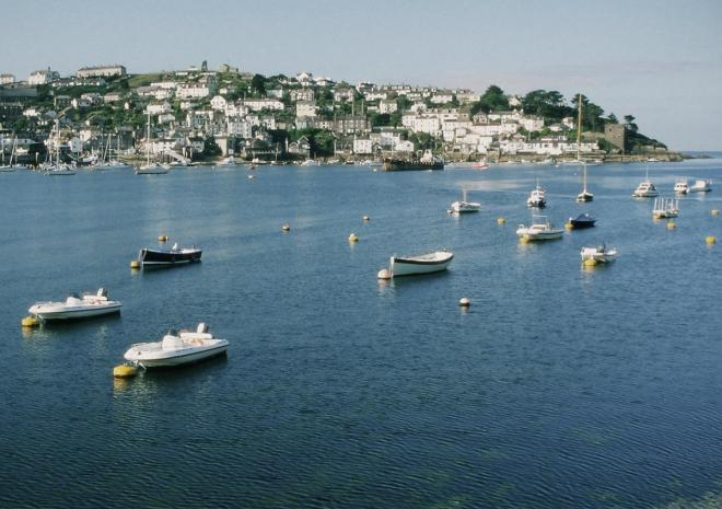 Fowey estuary towards Polruan | Photo by Steve Wakefield | c SWCP