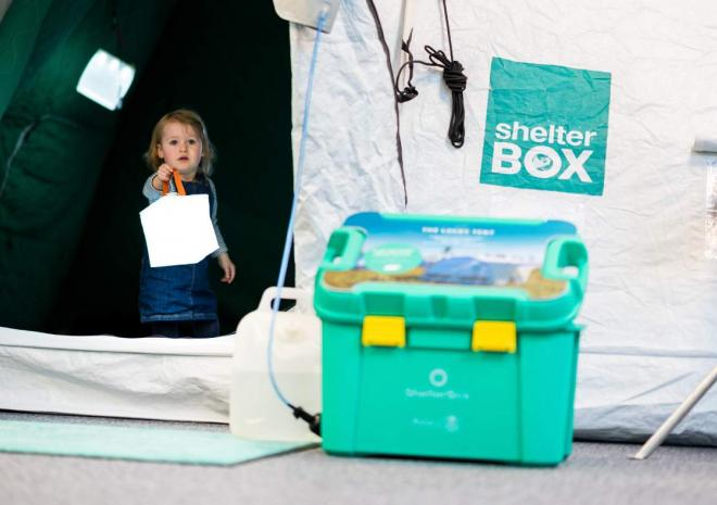 ShelterBox visitor centre is a family friendly attraction