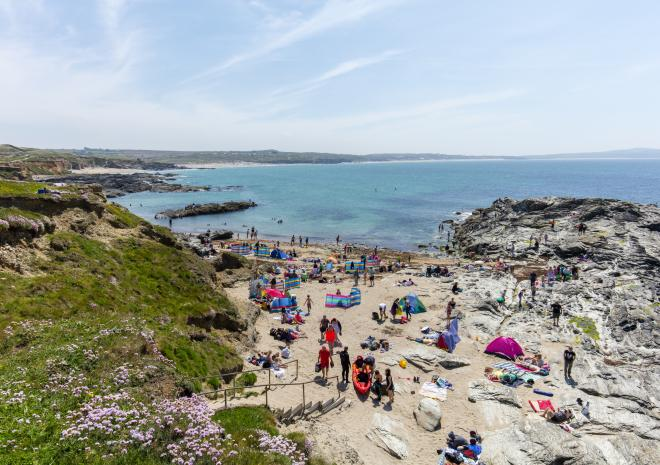 Godrevy Beach, Hayle, West Cornwall