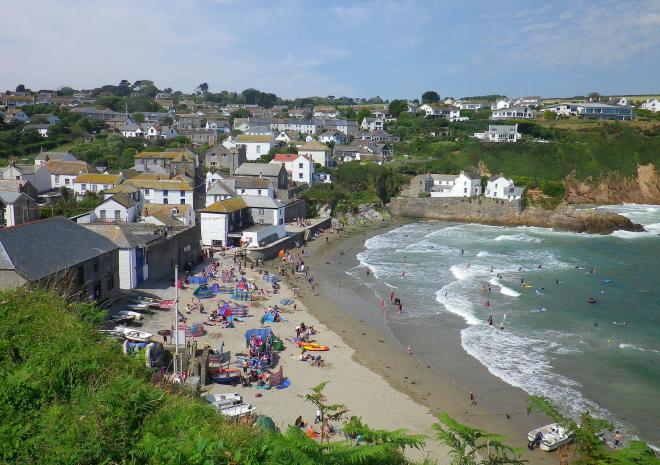 Gorran Haven Beach | St Austell Bay | Beaches in Cornwall