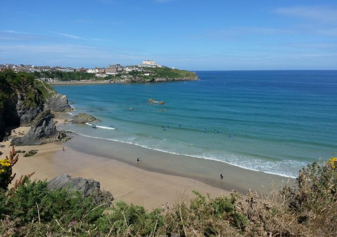 Great Western Beach Newquay, Beaches in Cornwall, Dune Dreams Newquay c Visit Cornwall
