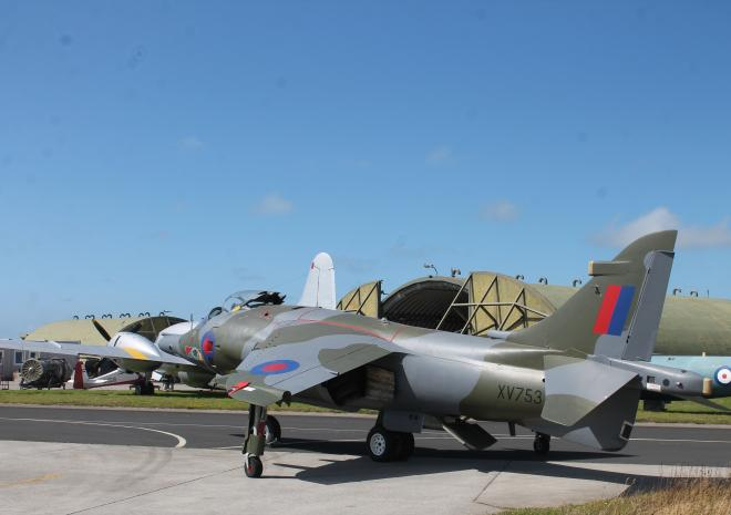 Cornwall Aviation Heritage Centre, Harrier, Mawgan Porth, Things to do, North Cornwall