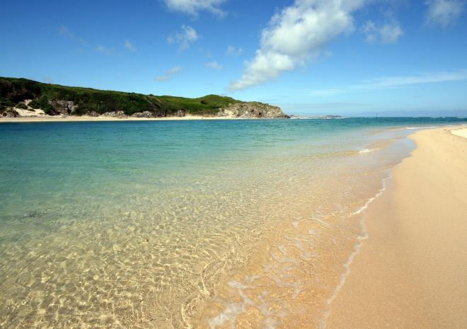 Godrevy and Hayle Towans are another of our nearby beaches