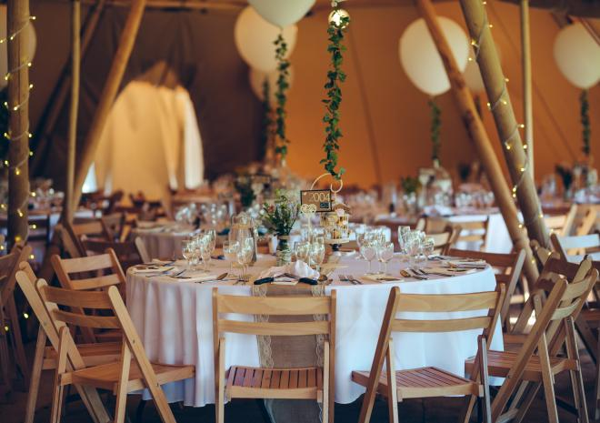 Marquee Wedding Venue Cornwall Exclusive Hire Tipis