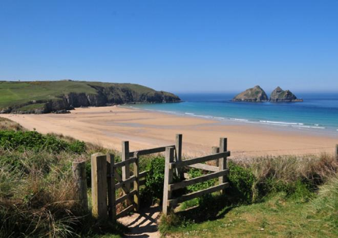 Holywell Bay Beach | Newquay | Beaches in Cornwall c Trevornick