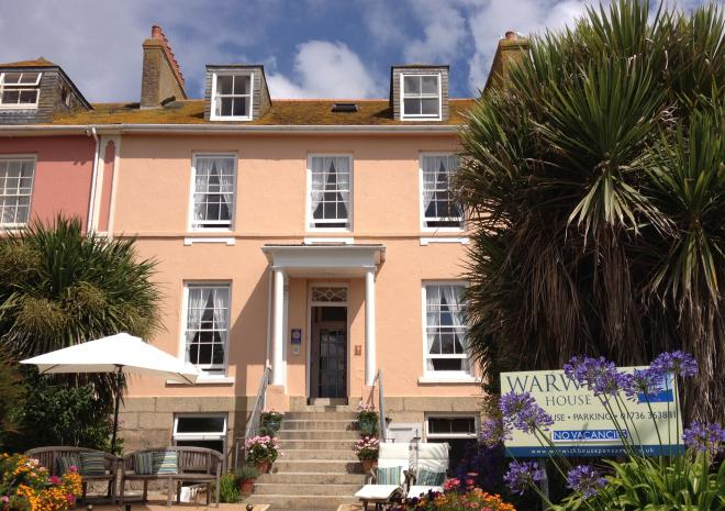 Warwick House, Bed and Breakfast,Penzance, West Cornwall