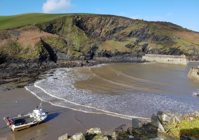 Port Isaac, Cornwall only an Hour drive from Caravan Park