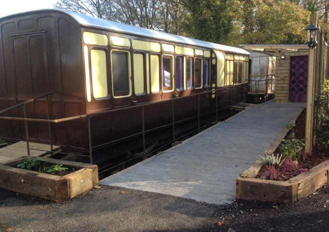 Our latest carriage, Millpool, is designed for wheelchair users